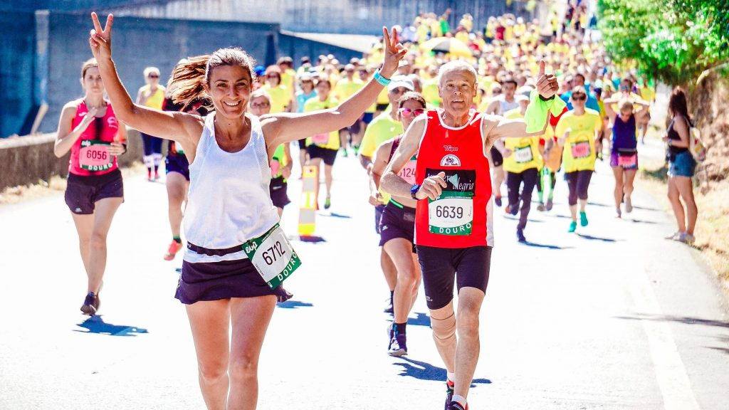 seniors running marathon